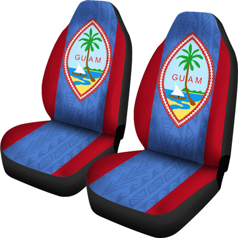 Image of Guam Car Seat Covers - Guam Flag - NN9