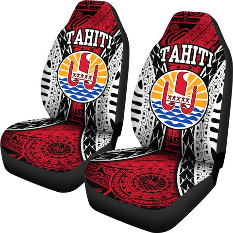 French Polynesia - Tahiti Special Seat Covers | Love The World