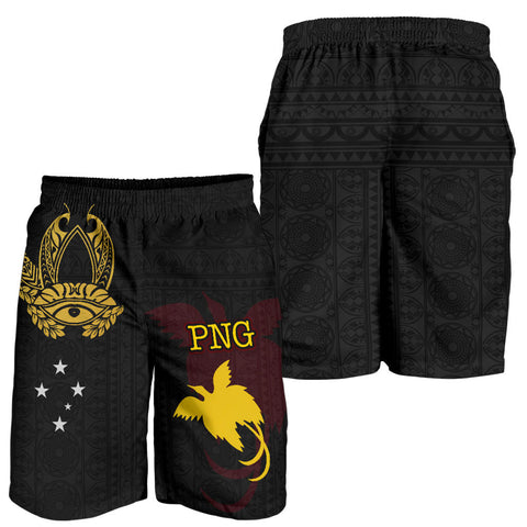 Papua New Guinea Men's Short - Erudite Eye - BN11