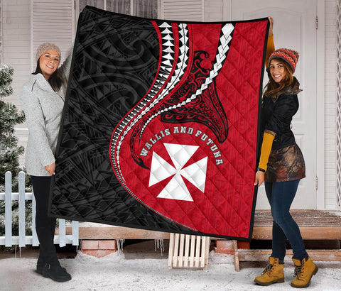 Image of Wallis And Futuna Premium Quilt Kanaloa Tatau Gen WF - TH65