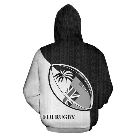 Image of Fiji Spirit of Rugby Hoodie BW K6 1ST