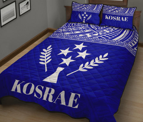 Image of Kosrae Micronesia Quilt Bed Set  - BN0112