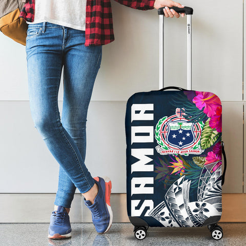 Image of Samoa Luggage Covers - Samoan Summer Vibes
