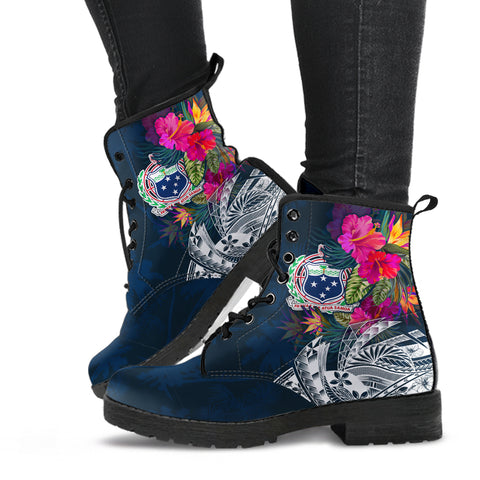 Image of Samoa Leather Boots - Samoan Summer Vibes