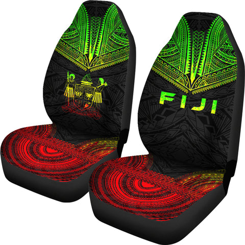 Fiji Polynesian Chief Car Seat Cover - Reggae Version