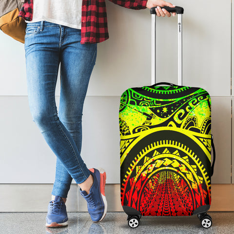 Polynesian Luggage Covers - Maui Tattoo (Reggae) - BN17