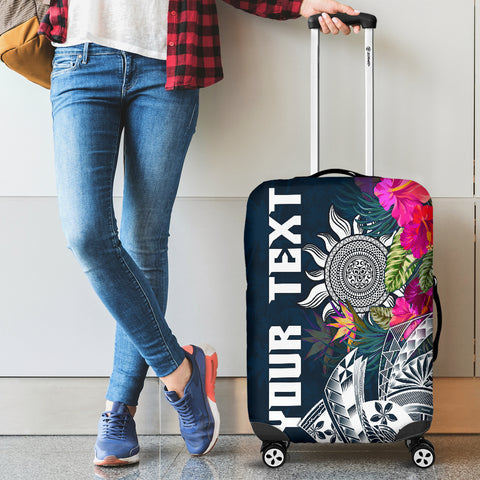 Polynesian Custom Personalised Luggage Cover - Summer Vibes
