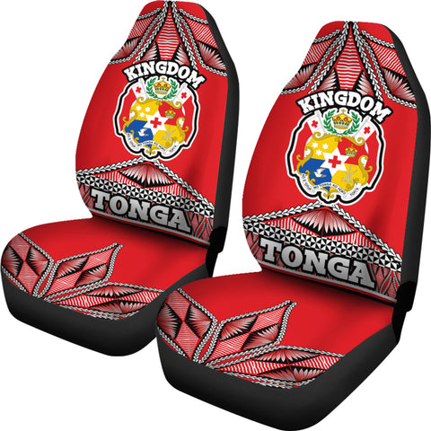 Tonga Polynesian Car Seat Covers - Coat of Arms  - BN12