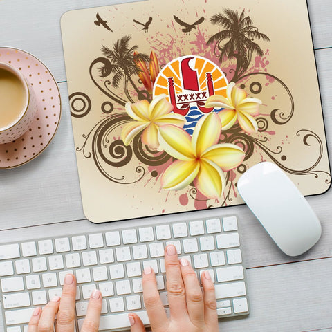 Tahiti Polynesian Mouse Pad - Summer Tropical