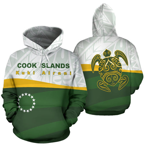 Cook Islands Hoodie by 1sttheworld for Men and Women