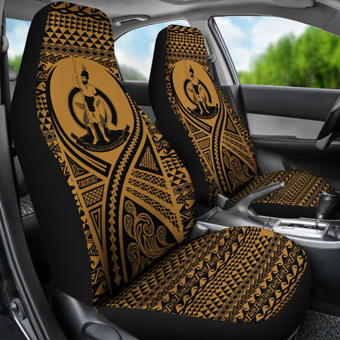 Vanuatu Car Seat Cover Lift Up Gold - BN09