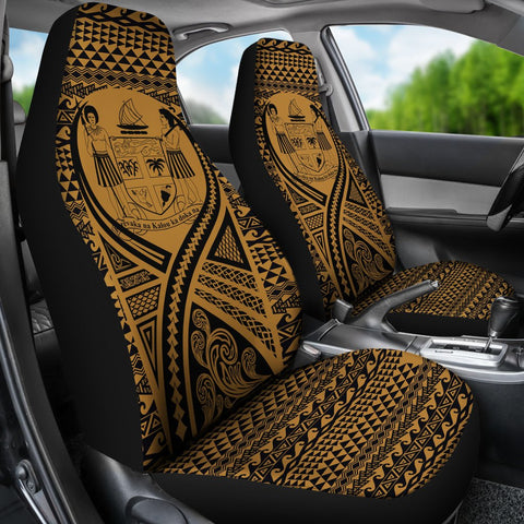 Fiji Car Seat Cover Lift Up Gold - BN09