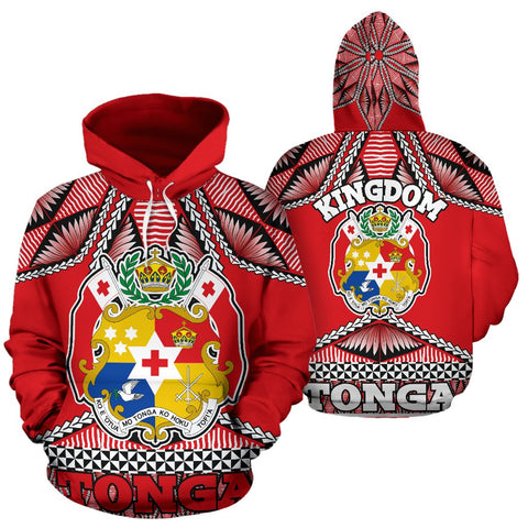 Tonga Polynesian All Over Hoodie