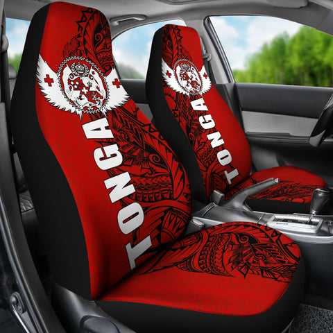 Image of Tonga Polynesian Car Seat Covers - Tonga Wings