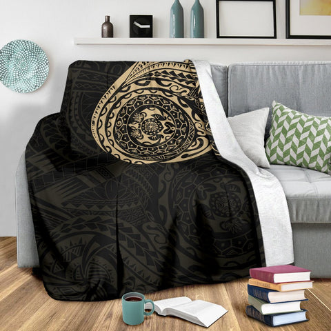 Polynesian Tattoo Style Blanket 1 A7 1ST