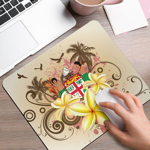 Fiji Polynesian Mouse Pad - Summer Tropical