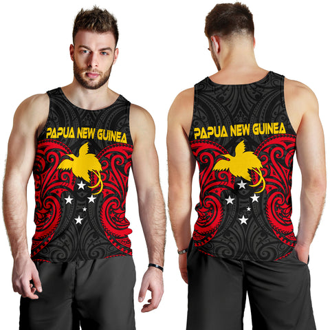 Papua New Guinea Men's Tank Top - Papua New Guinea Spirit