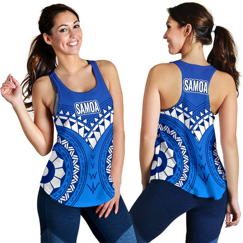 Samoa Polynesian Tribal Pattern Women's Tank Top