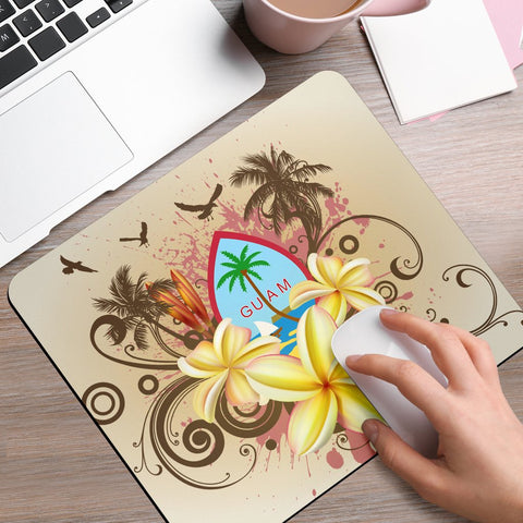 Guam Polynesian Mouse Pad - Summer Tropical