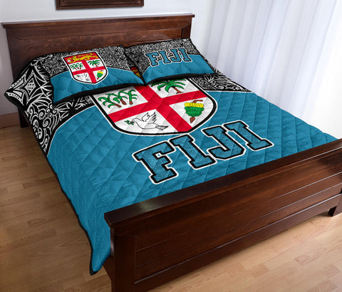 Image of Fiji Quilt Bed Set,Polynesian Frog, Polynesian, Fiji Bed set, Fiji