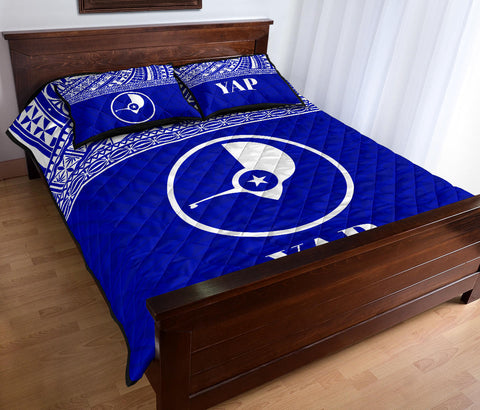Yap Micronesia Quilt Bed Set - BN0112