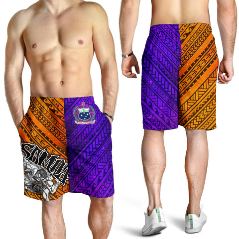 Samoa Men's Shorts - Warrior Style Polynesian Patterns - BN01