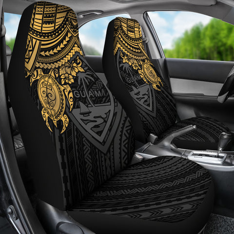 Guam Car Seat Covers - Red Turtle