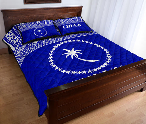 Image of Chuuk Micronesian Quilt Bed Set  - BN0112