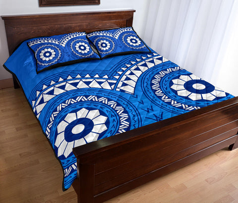 Samoa Tribal Pattern Quilt Bed Set - BN12