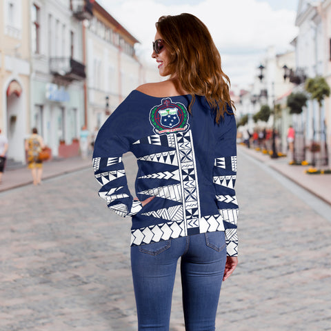 Image of Samoa Polynesian MYHEART Women's Sweater - BN11