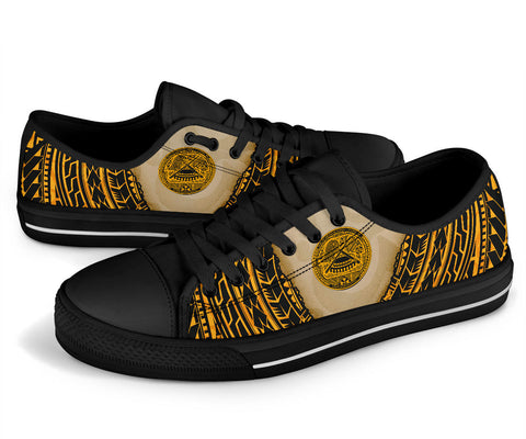 Image of American Samoa Low Top Shoe - Polynesian Wild Style - BN39