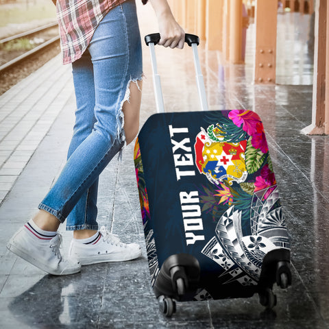 Tonga Custom Personalised Luggage - Summer Vibes
