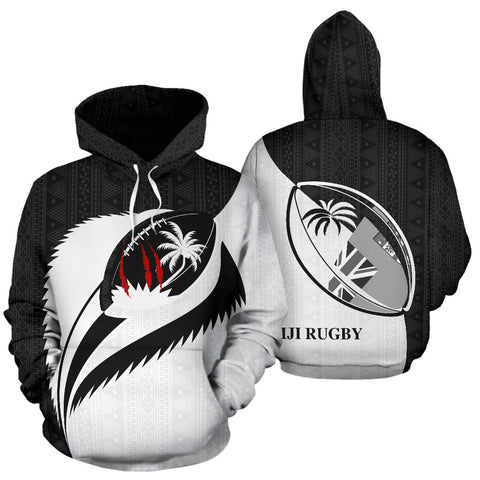 Fiji Spirit of Rugby Hoodie BW