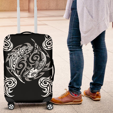 Polynesian Luggage Covers - Polynesian Shark Tattoo - BN20