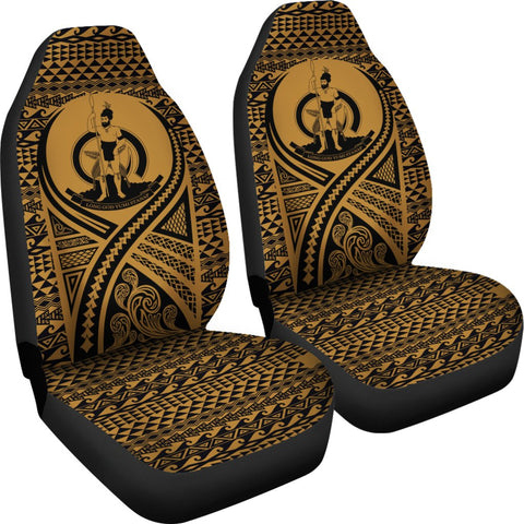 Image of Vanuatu Car Seat Cover Lift Up Gold - BN09
