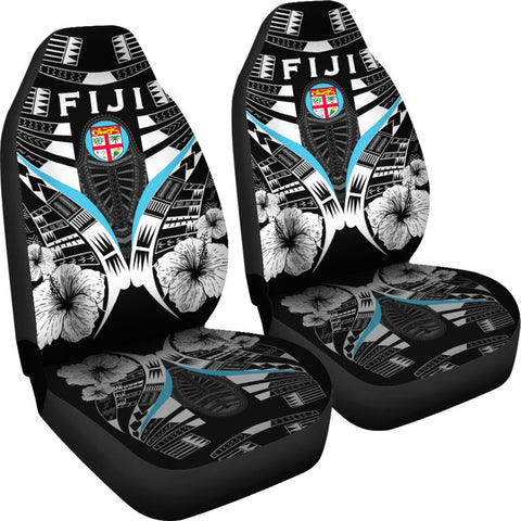 Fiji Tattoo Car Seat Covers Hibiscus K9 1ST