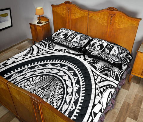 Image of Polynesian Quilt Bed Sets - Maui Tattoo - BN17