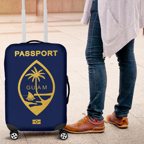 Guam Passport Luggage Cover - BN04
