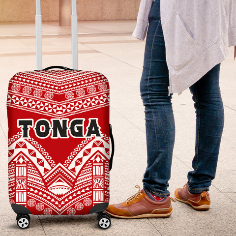 Tonga Polynesian Tribal Pattern Luggage Covers - BN12