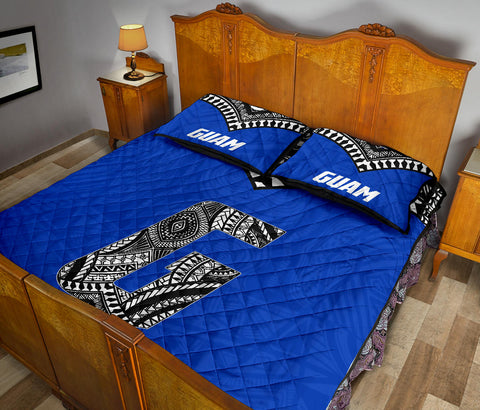 Guam Quilt Bed Set - Micronesia Style - BN12