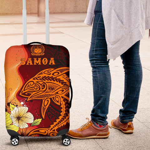 Samoa Luggage Covers - Tribal Tuna Fish - BN39