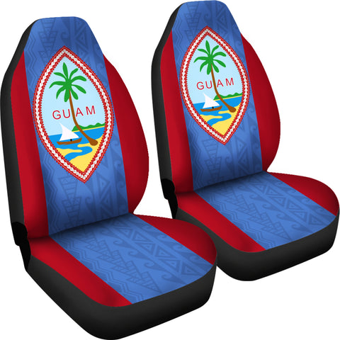 Guam Car Seat Covers - Guam Flag - NN9
