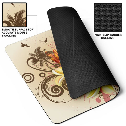 Guam Polynesian Mouse Pad - Summer Tropical - BN12
