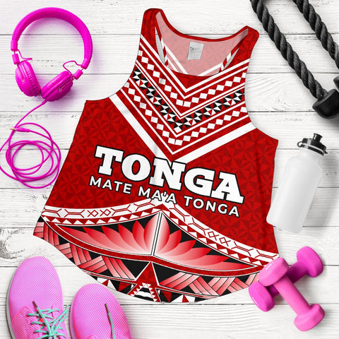 Mate Ma'a Tonga Pattern Women's Tank Top