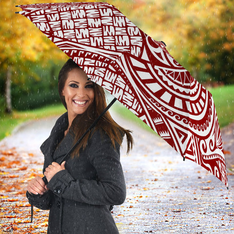 Image of Polynesian All Over Print Umbrella 03 - BN04