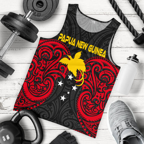 Papua New Guinea Men's Tank Top - Papua New Guinea Spirit - BN12