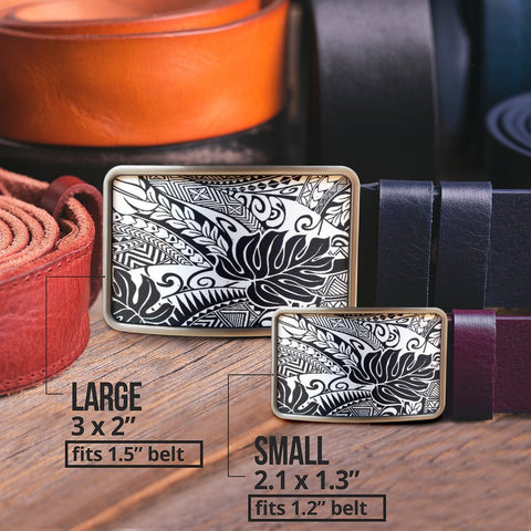 Polynesian Belt Buckle - Poly 53