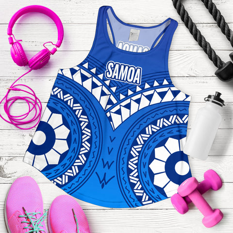 Samoa Polynesian Tribal Pattern Women's Tank Top - BN12