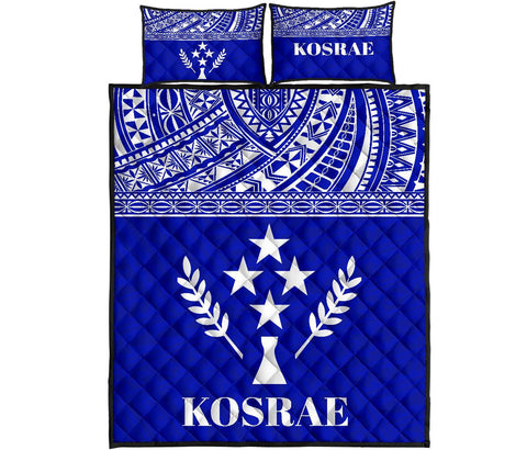 Image of Kosrae Micronesia Quilt Bed Set