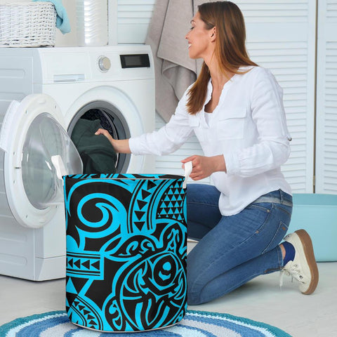 Image of Polynesian Laundry Basket - Poly 50